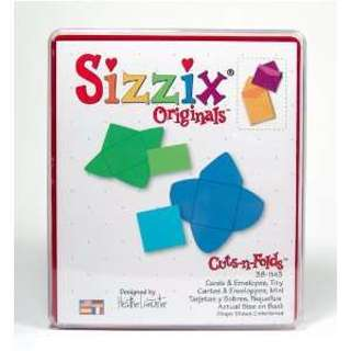 Free: Sizzix Originals Die Tiny Cards and Envelopes
