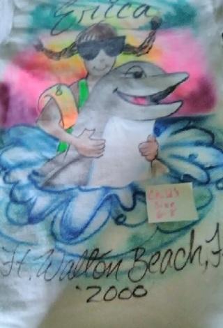 """2-Panama City Beach ` Erica` """" T-shirt"""