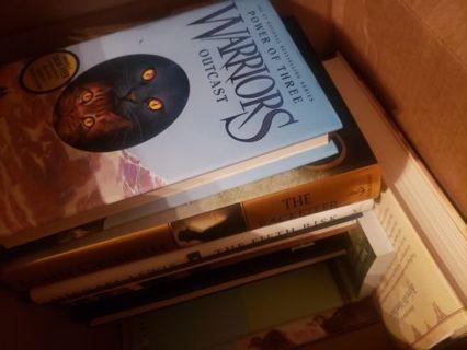 Large box full of books lot #4
