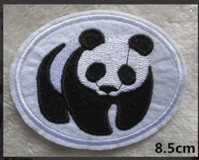1 The World Wide Fund for Nature WWF IRON ON PATCH Save the Planet Panda Logo FREE SHIPPING