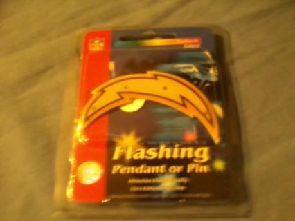 np San Diego Chargers flashing pin FREE SHIPPING