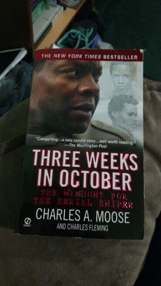 Three Weeks in October by Moose & Fleming (paperback)