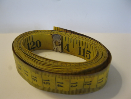 used 120 inch / 12 foot fabric tape measure