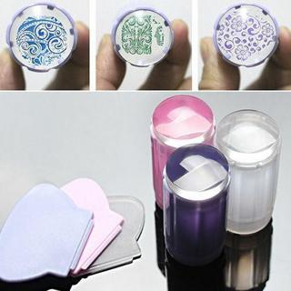 Nail Art Stamping Stamper Scraper Image Plate Manicure Print Tool DIY Nail Seal