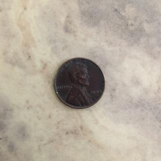 1948 Wheat penny. Average circulation