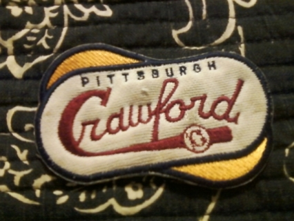 Pittsburgh Crawford Patch