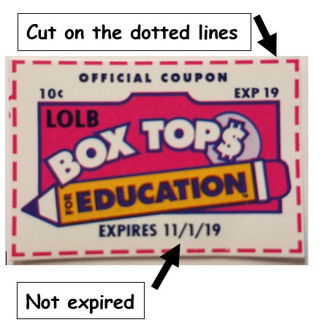 ***Box Tops For Education (25)***