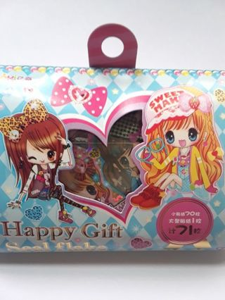 "*RARE* ""Sweets Make Girls"" Seal Flake Box *Very Hard To Find & Only One, Available!!* ☆Kawaii Bonus☆"