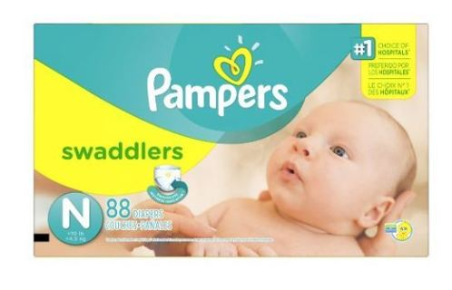 ✨✨SUPER CRASH SALE! 200,000 credits down!✨✨Pampers Swaddlers Newborn Diapers Size 0, 88 Count