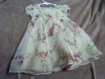 Infant Dress~NEW~ 12Months