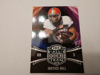Justice Hill rookie baltimore ravens