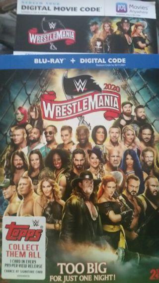 Wwe wrestlemania 36 digital copy