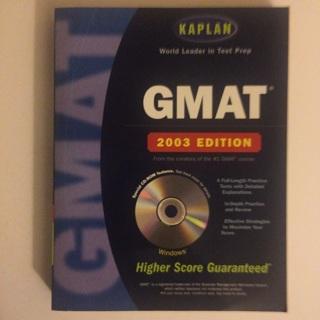 Kaplan GMAT 2003 with CD-ROM (Kaplan GMAT Premier Program (w/CD)) (Paperback)