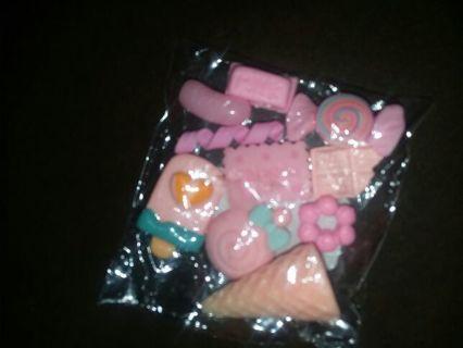Kawaii Cabochan x 10-Sweet Pink Treats