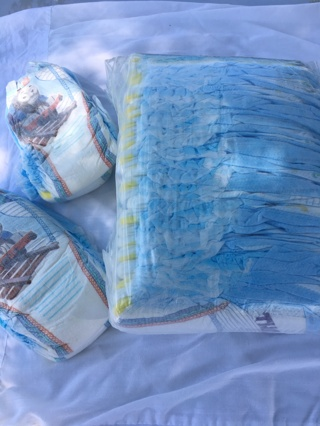 Pampers Easy Ups size 4t to 5t one pack plus 6 extra