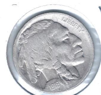 1919-S BUFFALO NICKEL FULL DATE