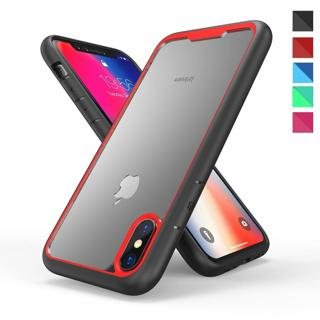 Shockproof Bumper Hard Armor PC Clear Case Cover For Apple iPhone X 8 Plus 7 6s