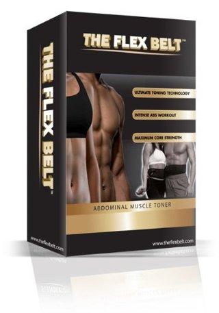 New The flex belt ab Abdominal Muscle flex belt by BMR x-70 ~As seen on TV~