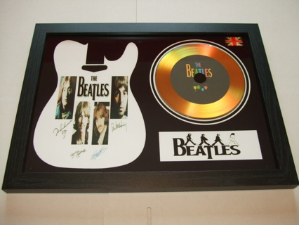 the beatles signed