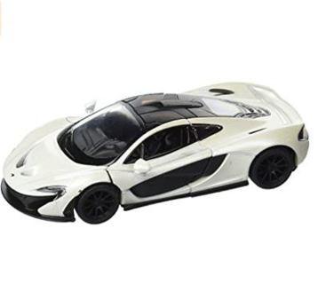 20% off! KiNSMART McLaren P1, White 5393D - 1/36 Scale Diecast Model Toy Car