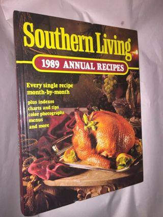 Vintage Southern Living 1989 Annual Recipes (Southern living cookbook