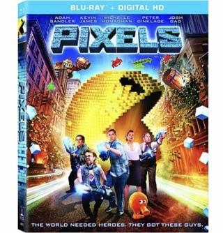 PIXELS (starring Adam Sandler, Peter Dinklage) - HD/HDX digital copy from Blu-Ray