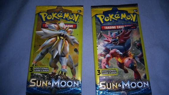 Pokemon Sun and Moon - 2 Unopened Packs