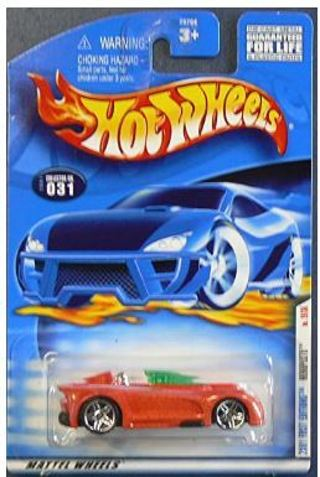 2001 First Editions -#19 Monoposto Pr-5 Wheels #2001-31 Collectible Collector Car Mattel Hot Wheels