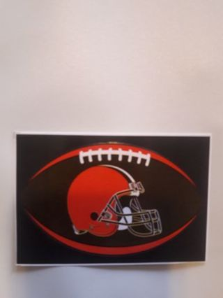 CLEVELAND BROWNS STICKER