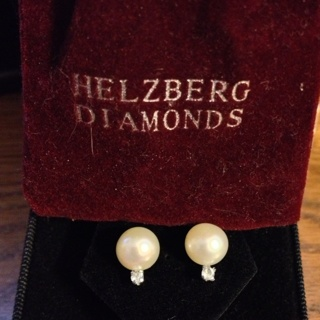 Beautiful Pearl Earrings From Helzberg Diamonds
