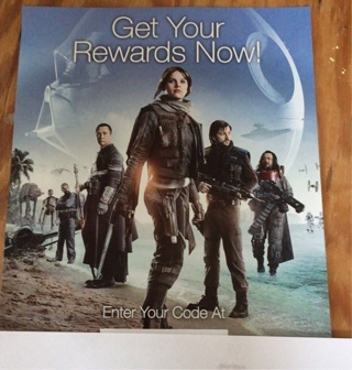 Star Words Rogue One Disney Rewards Code