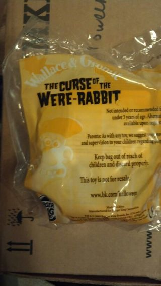 Free Burger King Wallace Gromit The Curse Of The Were Rabbit 2005 Collectible Toys Listia Com Auctions For Free Stuff