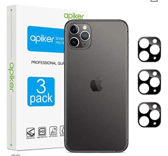 M 2 Pack Apiker Camera Lens Protector for iPhone 11 Pro Max 6.5 Inch and iPhone 11 Pro 5.8 Inch,