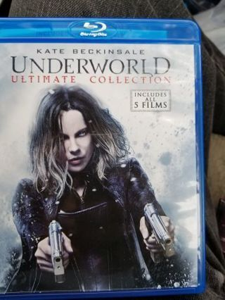 Underworld ultimate collection Digital HD code