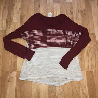 Trueself Maroon Top Large