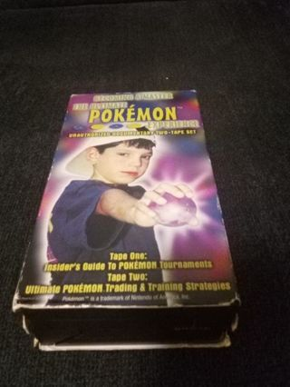 Becoming a Pokemon Master 2 VHS Set
