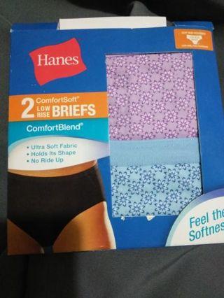 BN women's Hanes underwear size 7