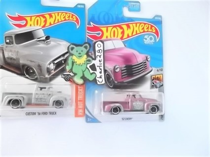 FRESH PULL - PINK '52 CHEVY  + '56 FORD