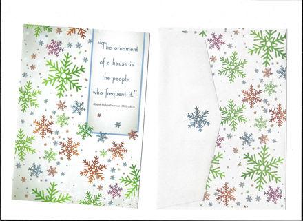 Vintage Christmas Card Unused With Envelope