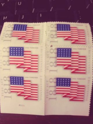 6 FOREVER STAMPS