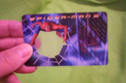 Free Spider Man 2 Movie Spider Sense Decoder Card 5 Of 6