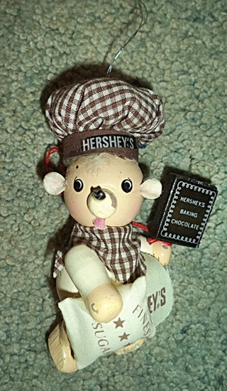 Hershey's Bear Christmas Ornament