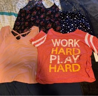 Cute Women's Shirt Lot