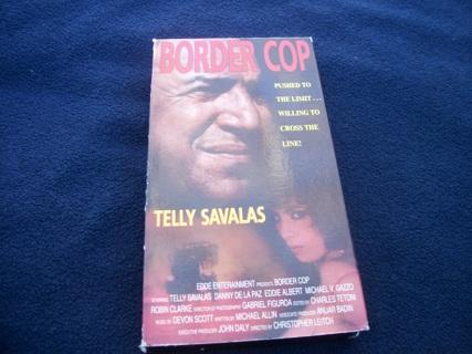 Border Cop VHS