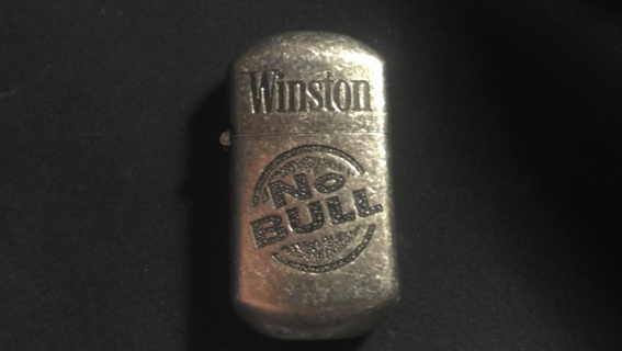 Free: Winston No Bull Lighter Zippo Style - Other