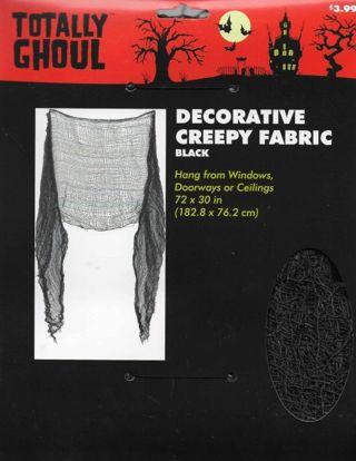 NEW Halloween BRACELET CHARMS and Black CREEPY NET Fabric