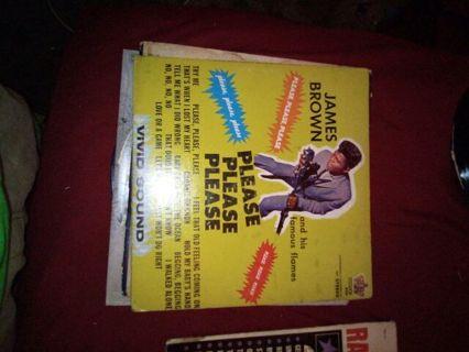 James Brown vinyl record