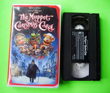 Muppet Christmas Carol Vhs.Free Disney The Muppet Christmas Carol Vhs Kermit Frog Miss
