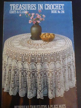 Free Coats Clark Reasures In Crochet Book 296 Crochet Listia