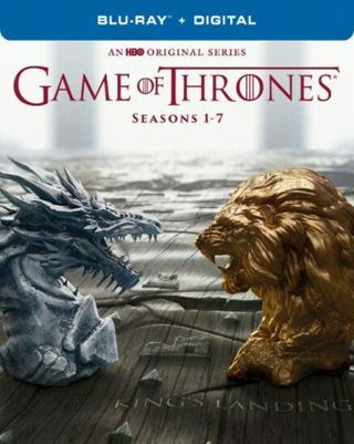 GAME OF THRONES! COLLECTION SEASONS 1-7 HDX! Ultraviolet code only!
